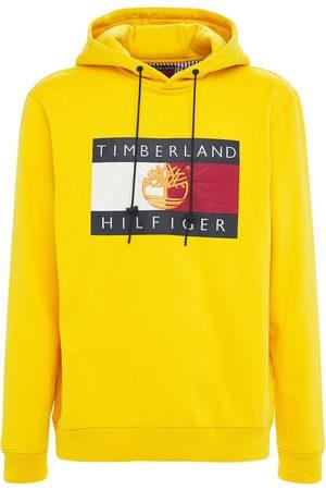 TOMMY HILFIGER X TIMBERLAND Logo Organic Cotton Blend Hoodie