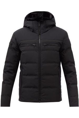 Fusalp Whistler Hooded Quilted Down Coat - Mens - Black