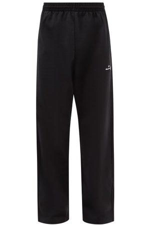 MARTINE ROSE Logo-appliqué Cotton-jersey Track Pants - Mens