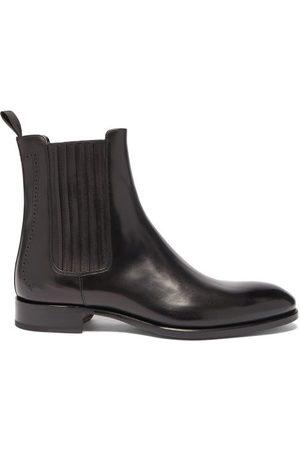 BRIONI Leather Chelsea Boots - Mens