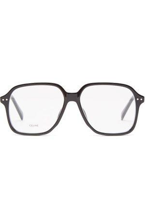 Céline Square Tortoiseshell-acetate Glasses - Mens