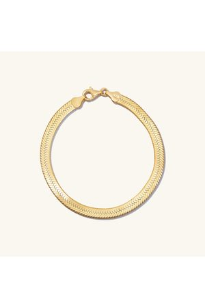 Mejuri Women Bracelets - Bold Herringbone Chain Bracelet