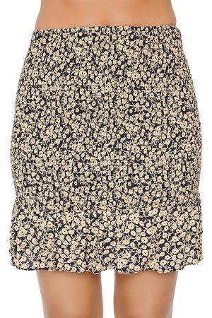 Lost + Wander Women Mini Skirts - Floral Smocked Mini Skirt