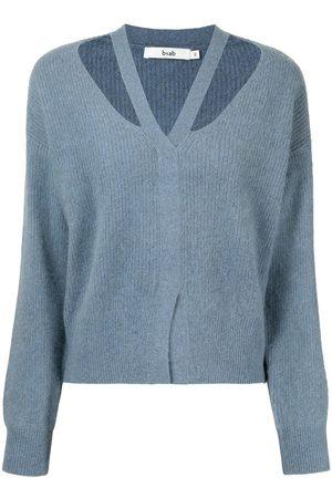 B+AB Women Sweaters - Strap-detail jumper