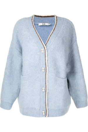 B+AB Women Cardigans - Faux-pearl button cardigan