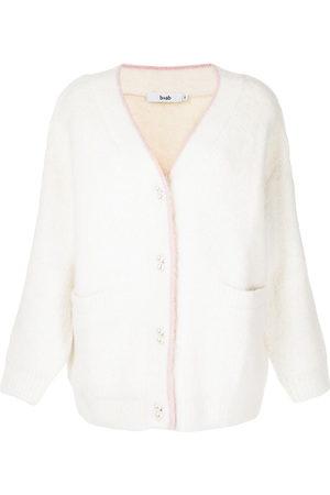 B+AB Women Cardigans - Pearl-button cardigan
