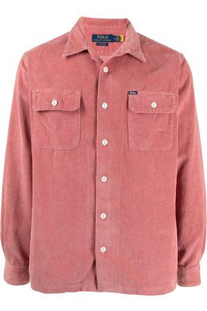 Polo Ralph Lauren Men Long sleeves - Long-sleeved corduroy shirt