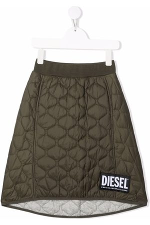 Diesel Glibi quilted midi skirt