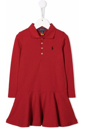 Ralph Lauren Polo Pony-embroidered polo dress