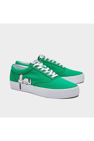 Lacoste Men Casual Shoes - Men's x Peanuts Snoopy Wide Last Casual Shoes in /- Size 8.0