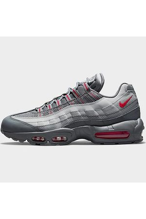 Nike Men's Air Max 95 Essential Casual Shoes in Grey/Smoke Grey Size 7.5 Leather