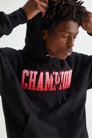 Champion Men Hoodies - Gradient Collegiate Logo Hoodie Sweatshirt